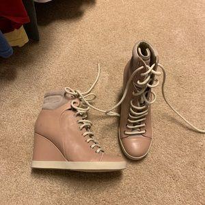 See by Chloe wedge sneaker